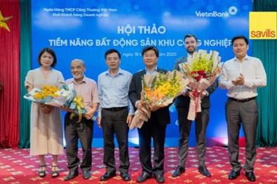 Vietinbank holds exclusive industrial real estate conference with Savills Vietnam