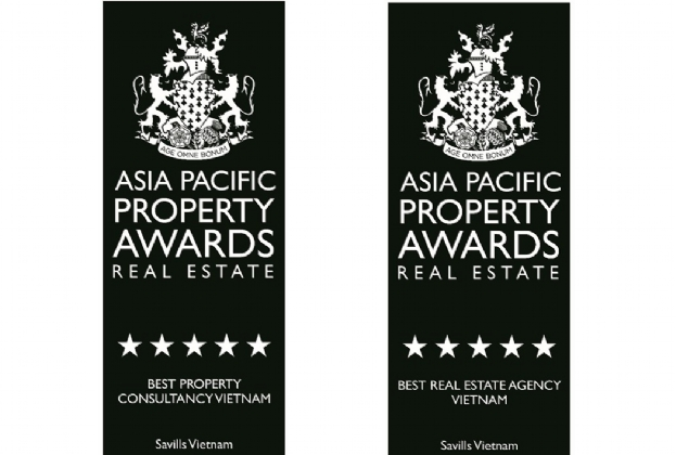 Savills Vietnam named Best Property Consultancy and Best Real Estate Agency in Vietnam