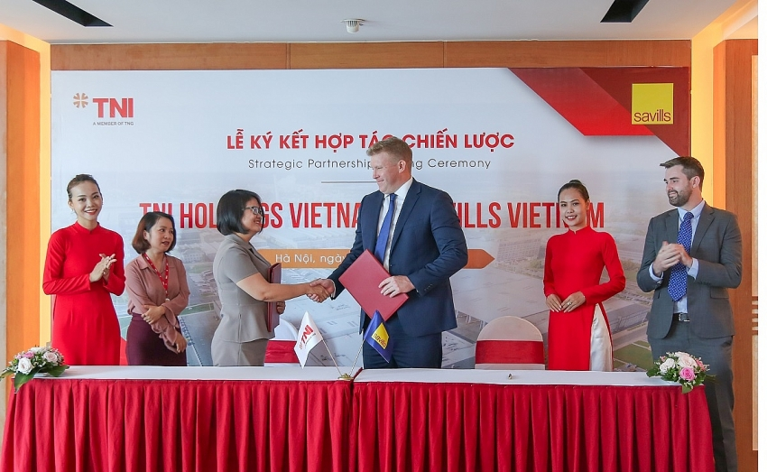 TNI Holdings Vietnam and Savills Vietnam enter strategic partnership