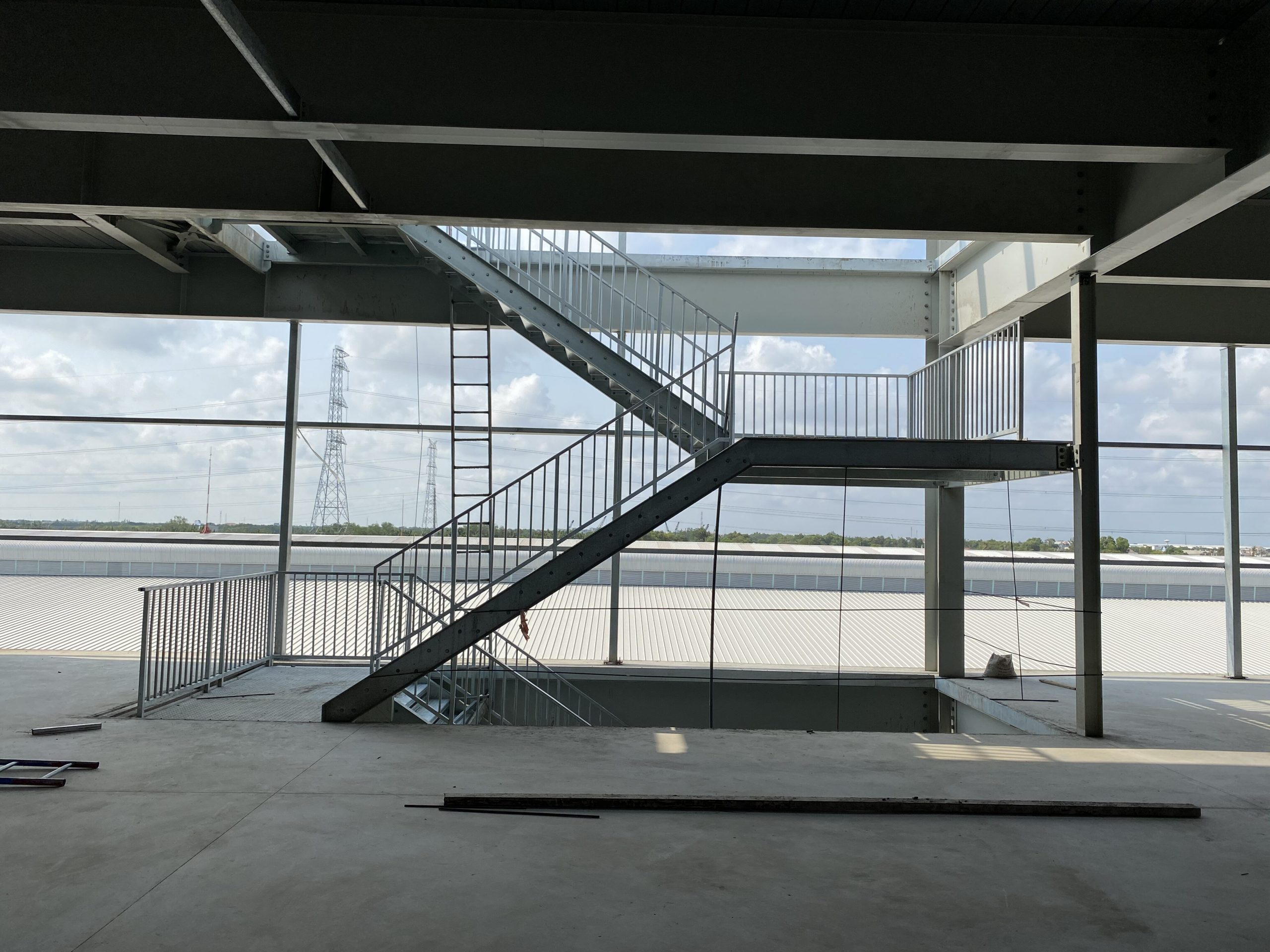 4-storey ready-built factory for lease in Long An